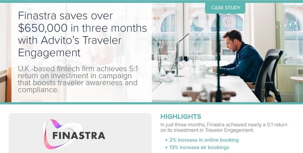 finastra case study screenshot for website